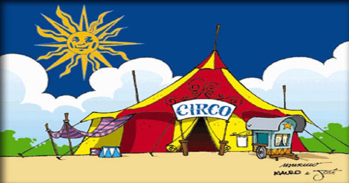 Atividades de Interpretação de texto Dia do Circo - O circo