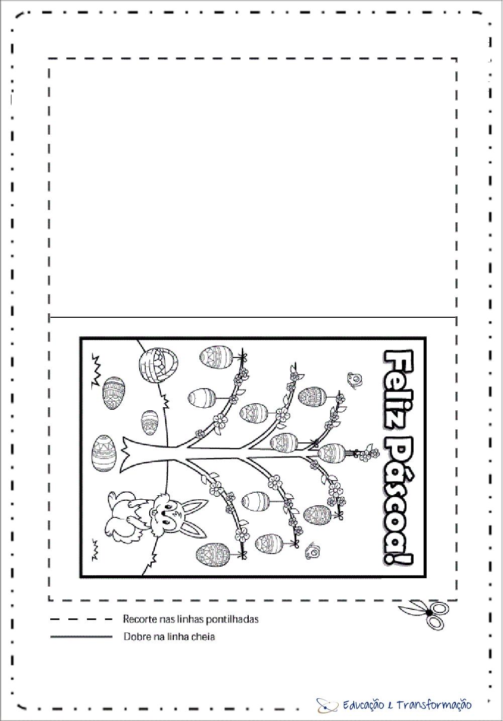 Cartão de Páscoa