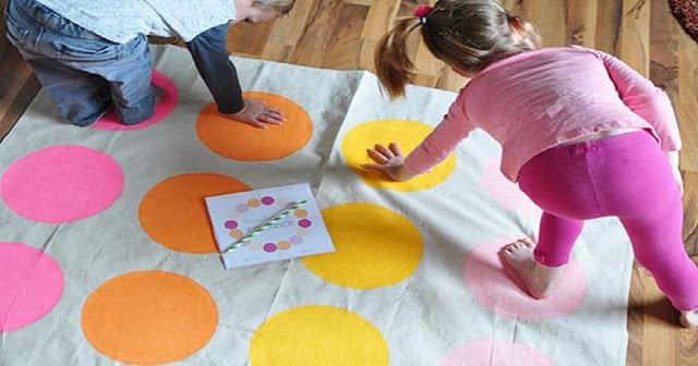 Jogo Twister – Coordenação Motora Infantil