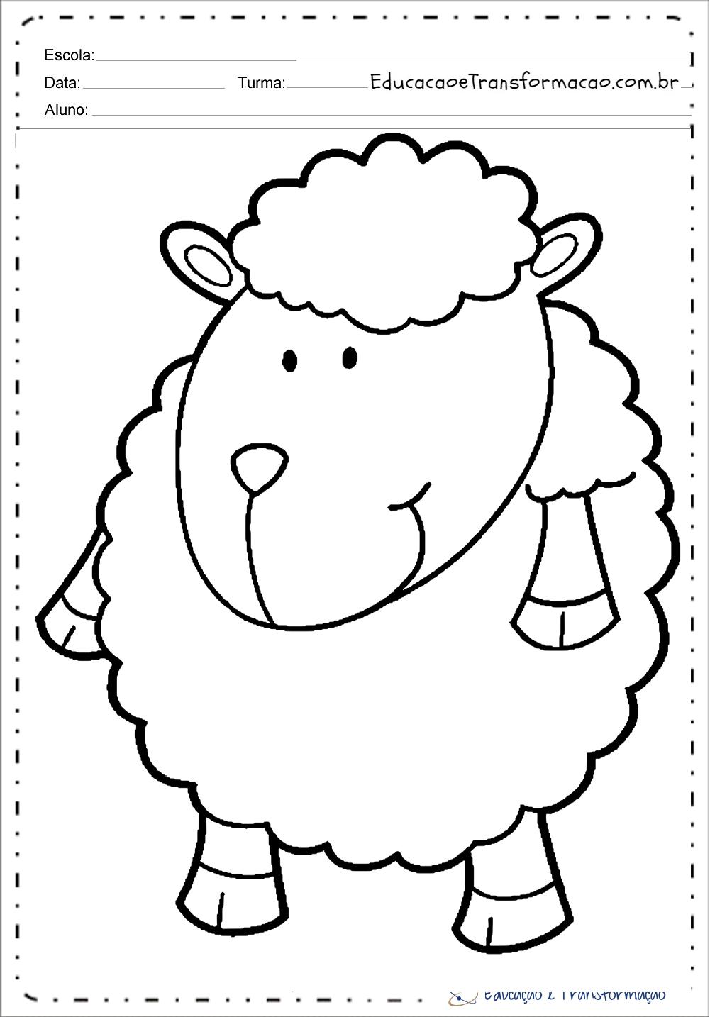 Desenhos de Ovelhas