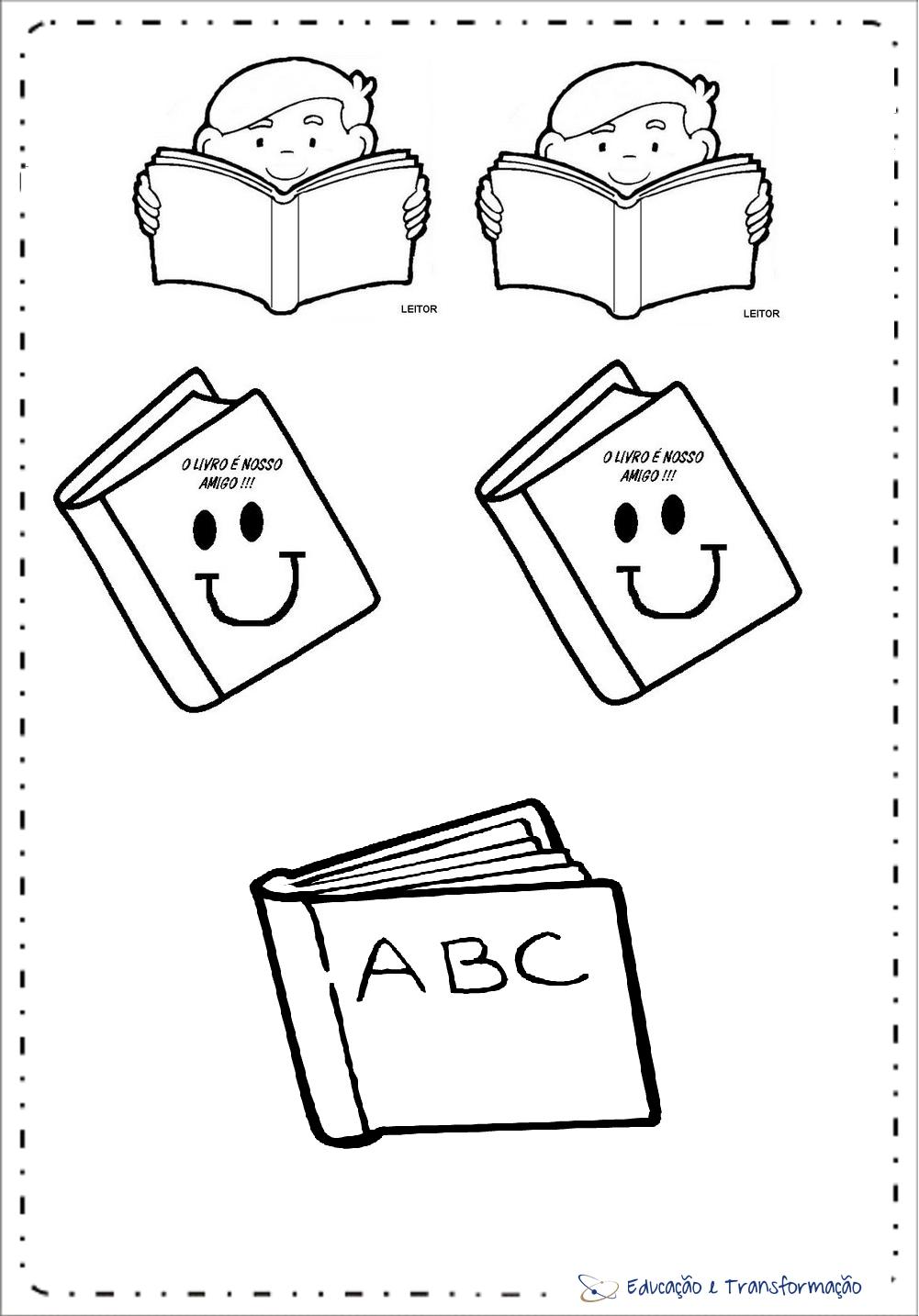 Lembrancinha Dia do Livro