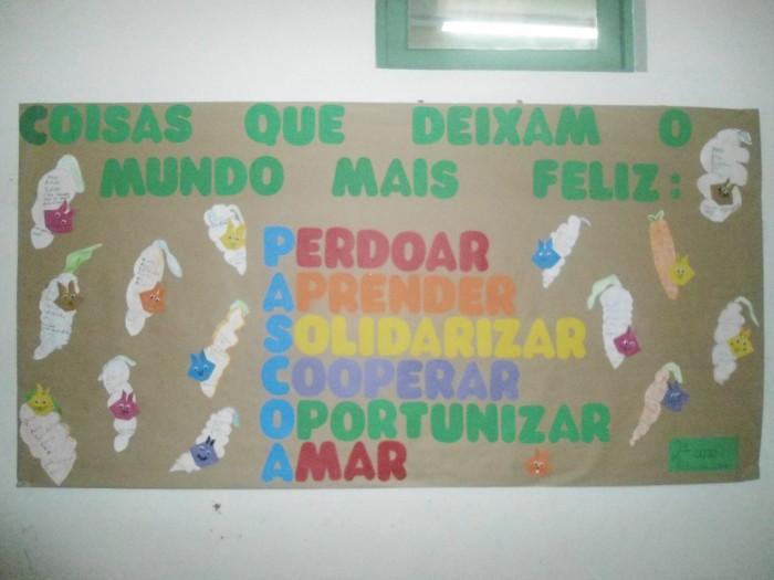 Painel De Pascoa Em Eva Com Moldes Para Educacao Infantil