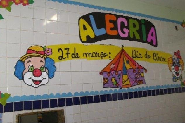Mural Dia do Circo em EVA
