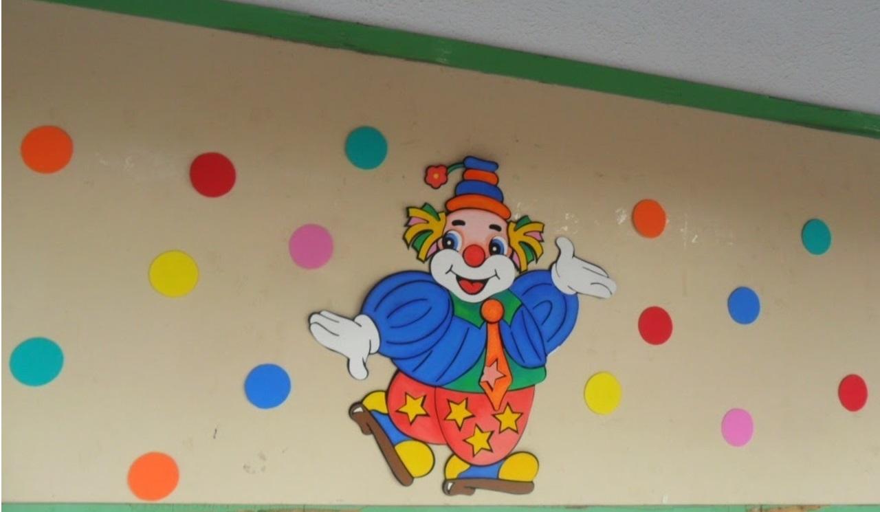 Mural Dia do Circo em EVA para Escola