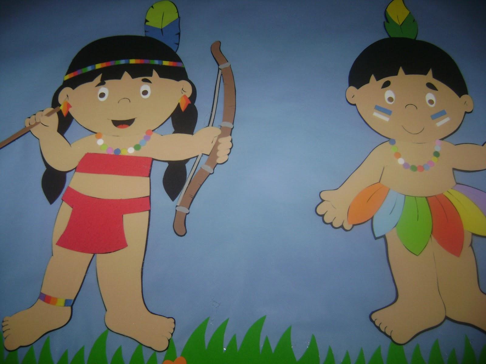 Murais e Painéis para o Dia do Índio