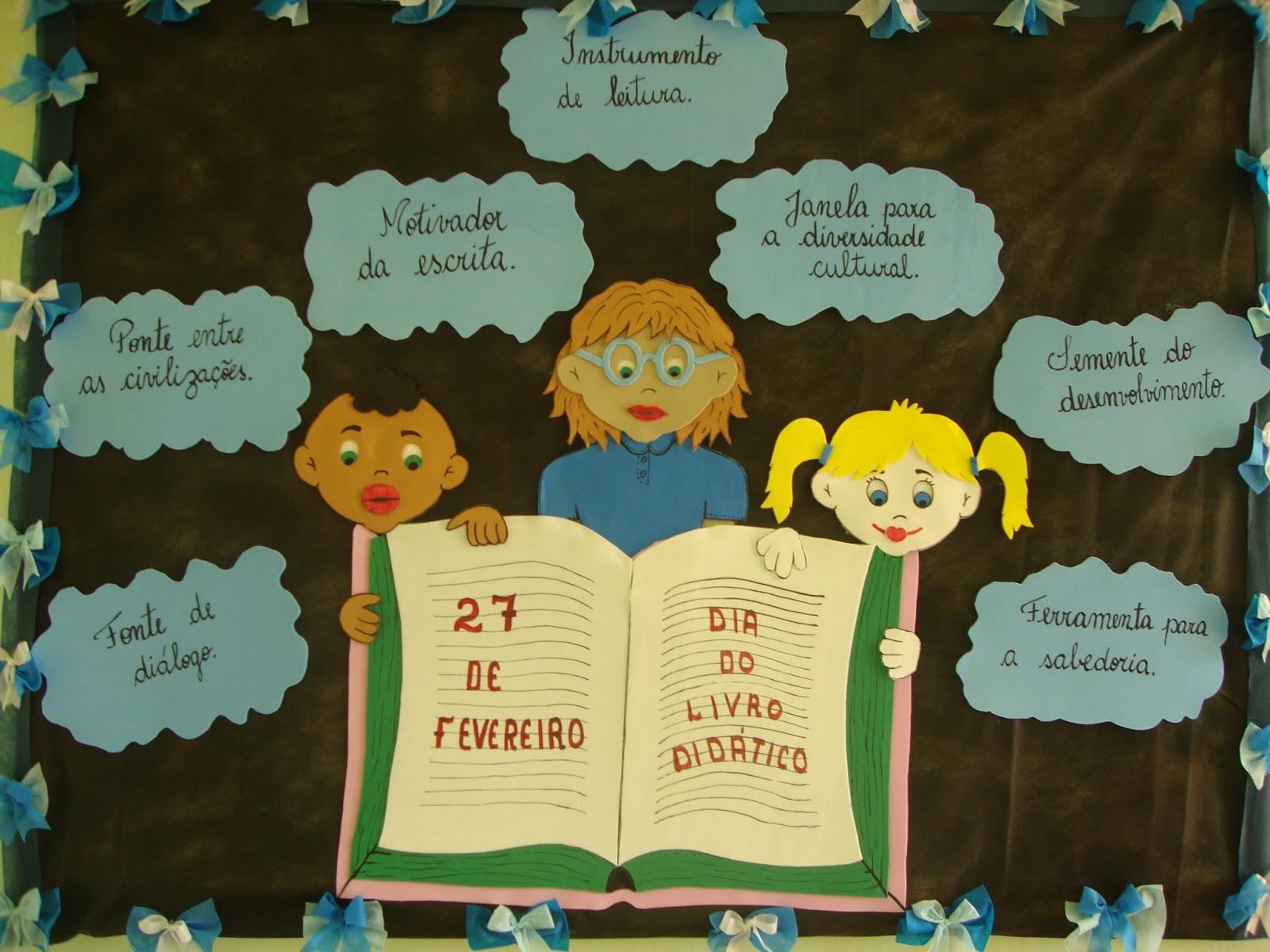Mural Dia do Livro
