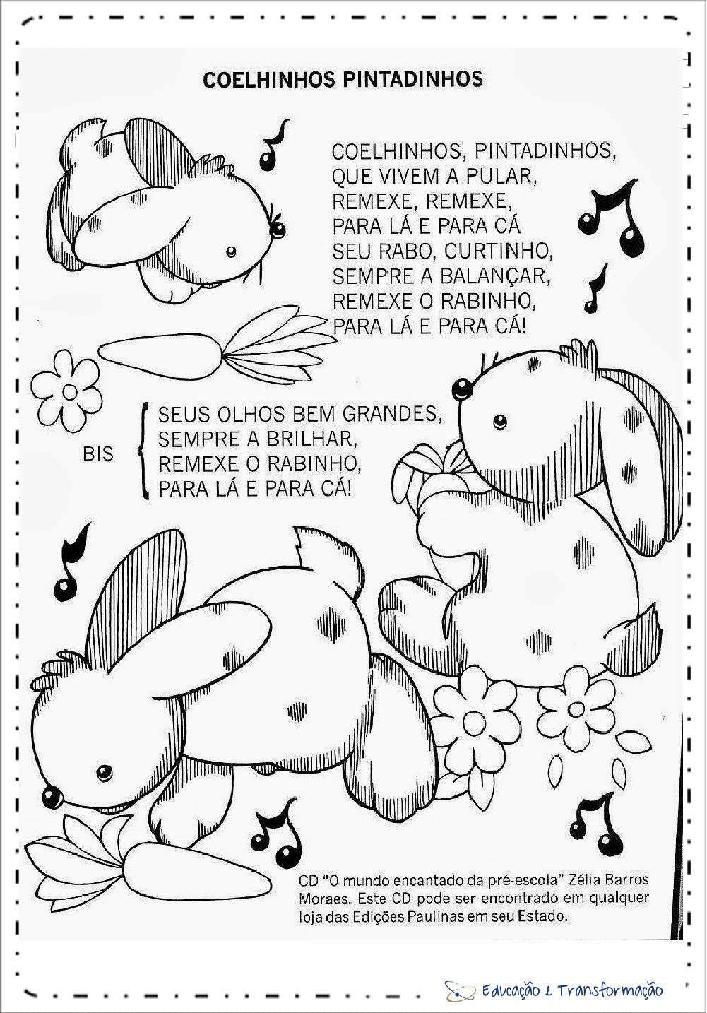 Músicas do Coelho da Páscoa infantil