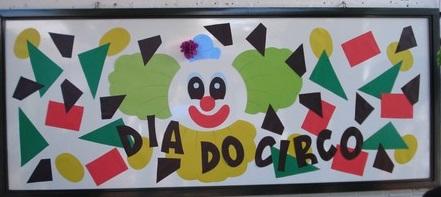 Painel dia do circo para Educação Infantil