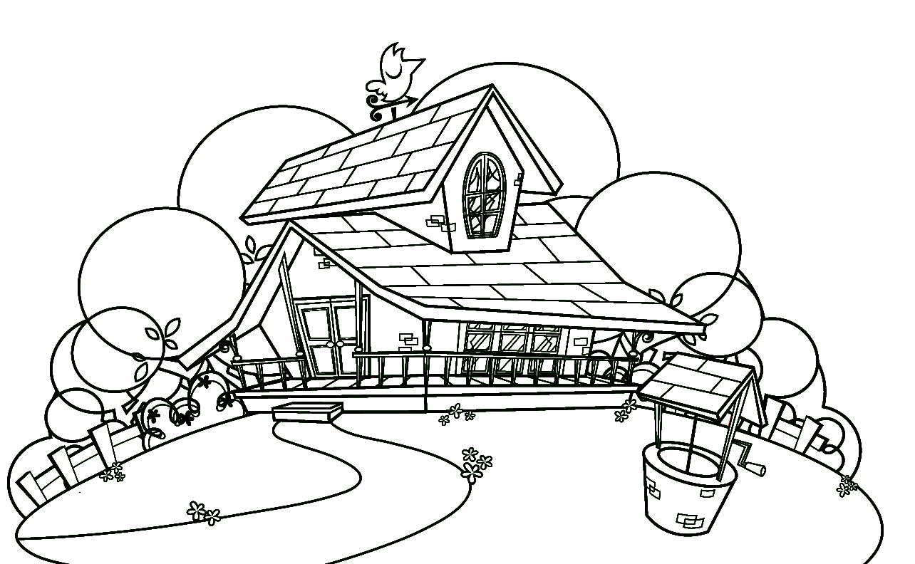 Desenhos para colorir do Sítio do Pica Pau Amarelo
