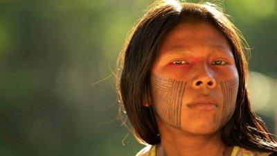 Atividades de Interpretação de Texto Dia do Índio -ÍNDIO QUER APITO, COMPUTADOR E INTERNET