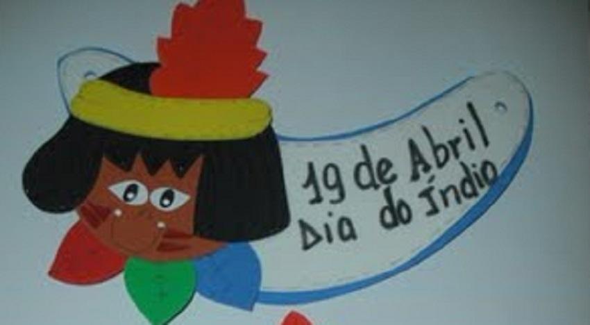 Lembrancinhas Dia do Índio com moldes - Viseiras para menino e menina