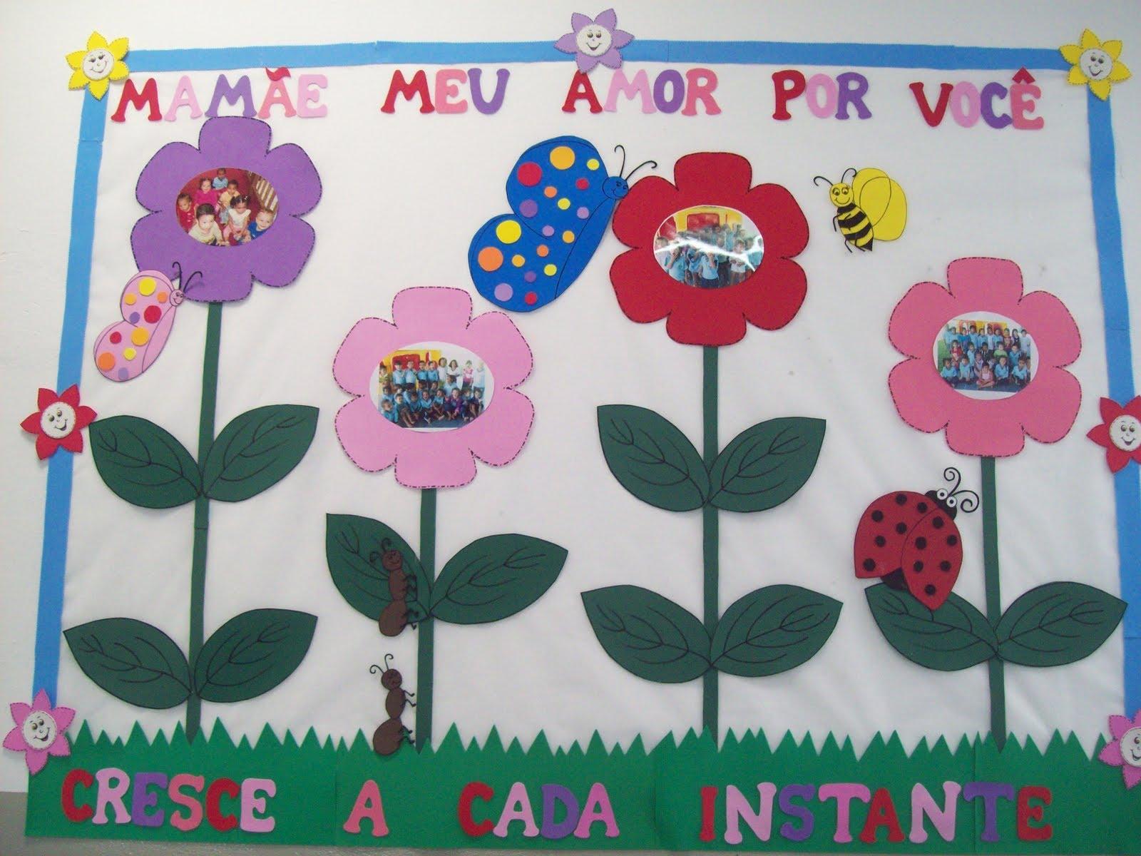 Mural Dia das Mães
