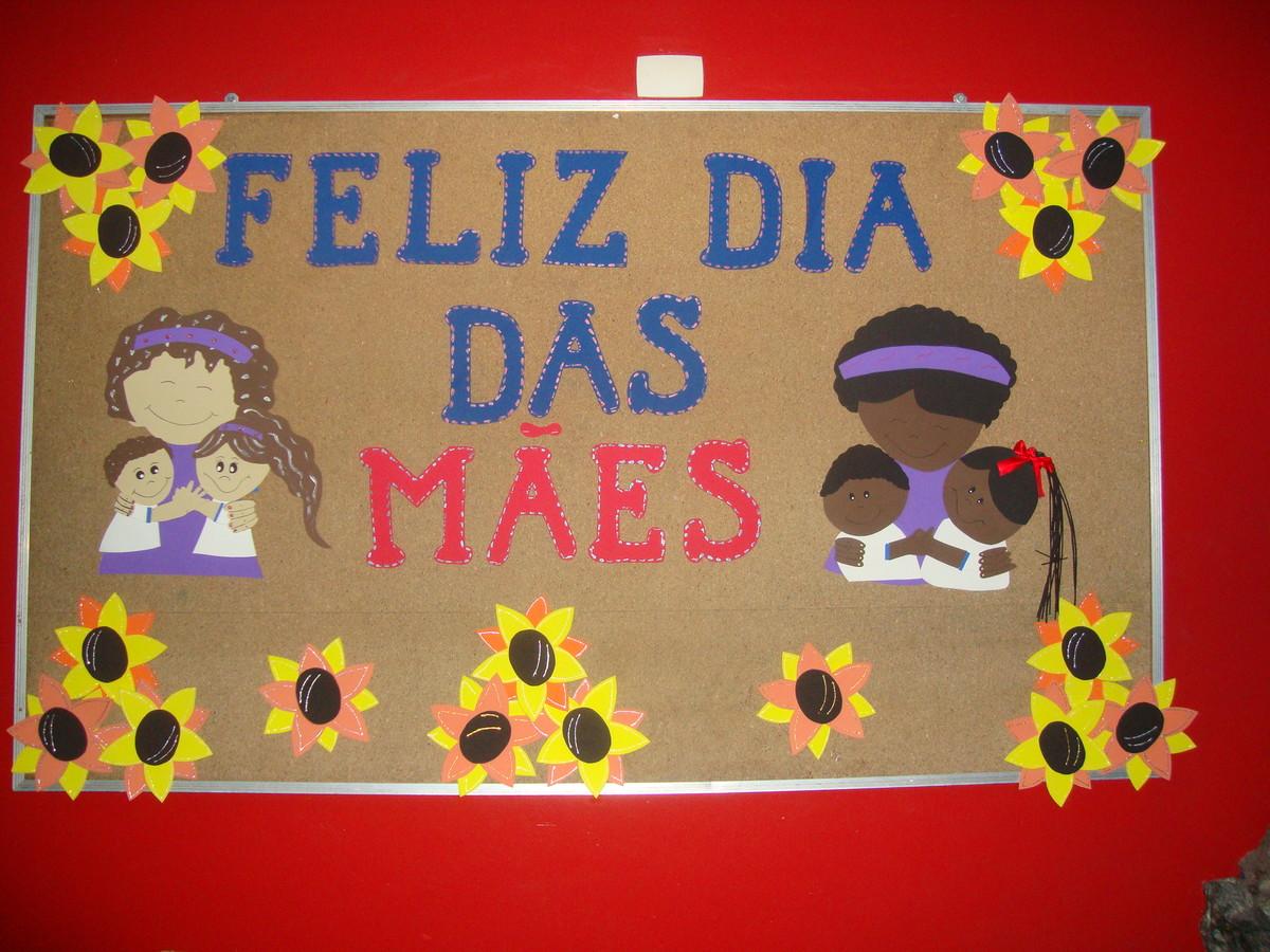 Painel Dia das Mães em EVA