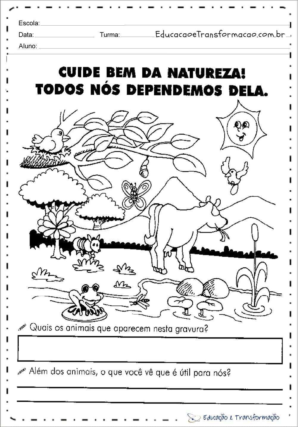 Atividades Meio Ambiente