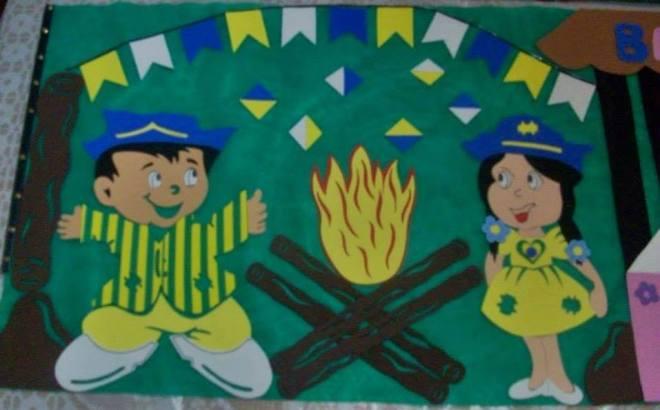 Cartaz Copa do Mundo 2018 em EVA