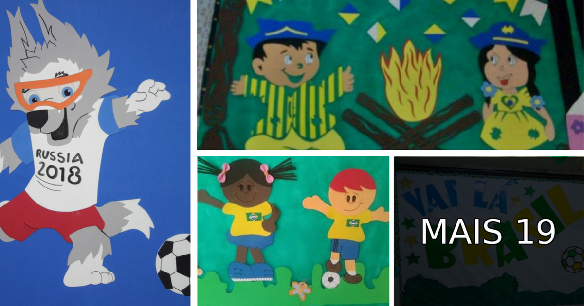 Cartaz Copa do Mundo 2018