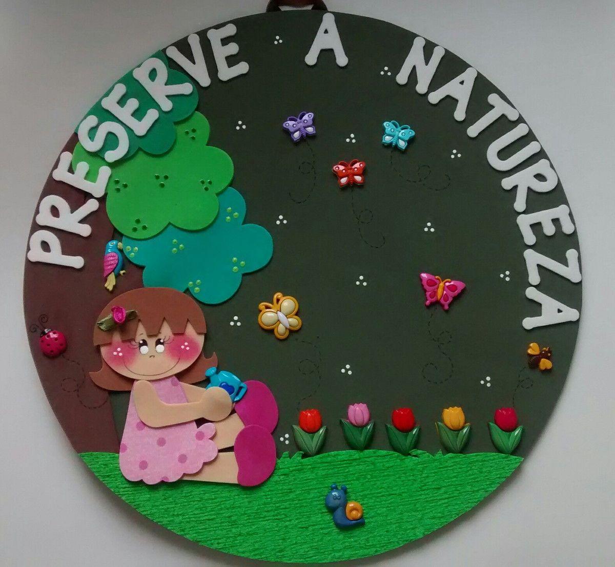 Decoração Meio Ambiente na escola