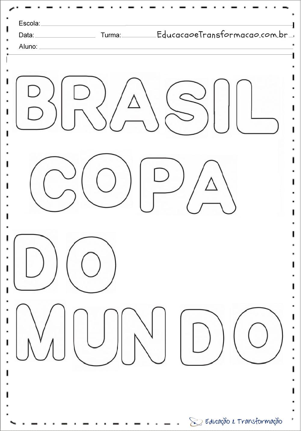 Moldes Copa do Mundo