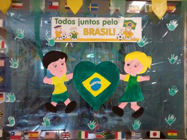 Mural Copa do Mundo 2018 na Russia em EVA