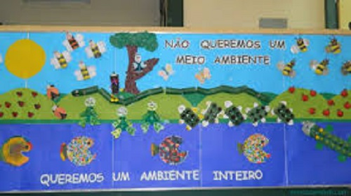 Mural meio ambiente