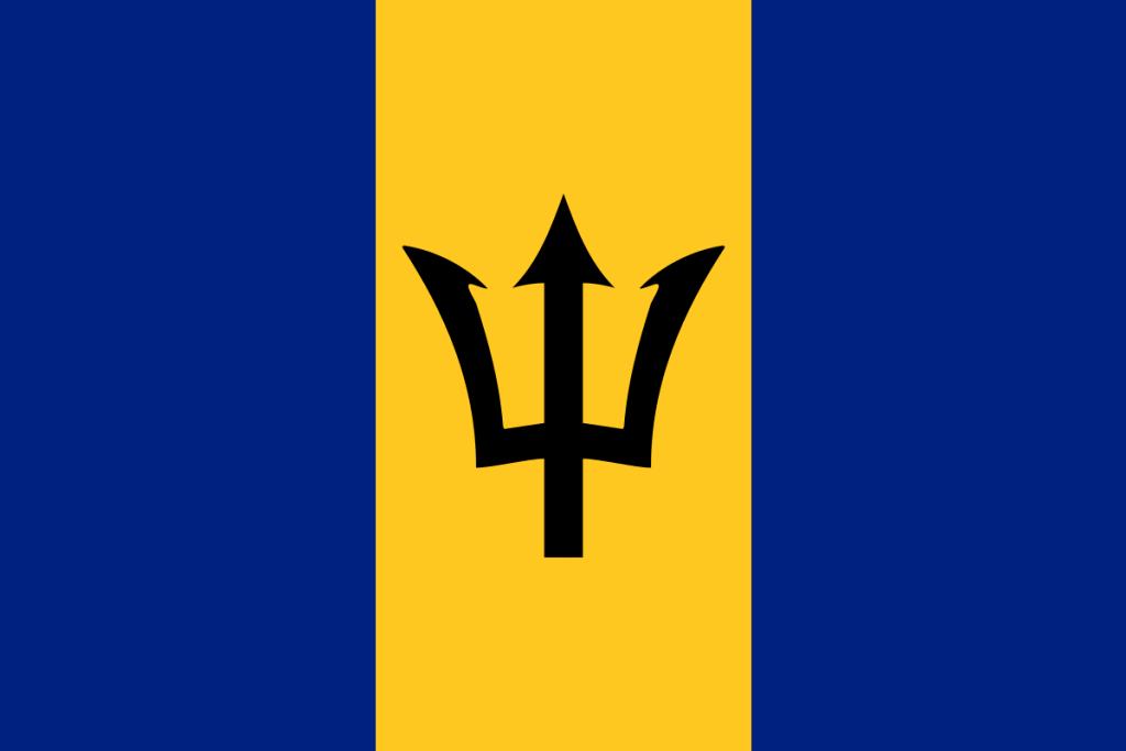 Bandeira Barbados