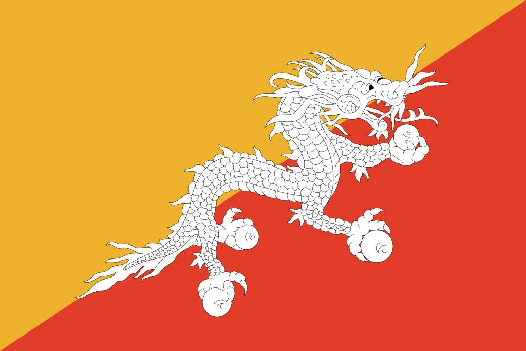 Bandeira Butao