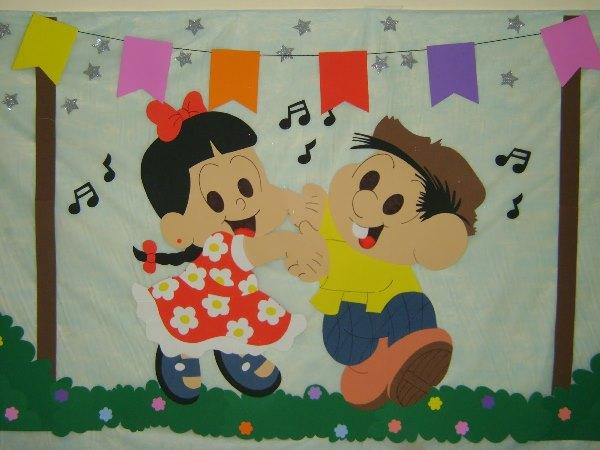 Cartaz Festa Junina para festas escolares