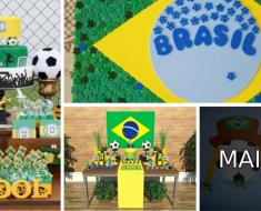 Decoração Copa do Mundo
