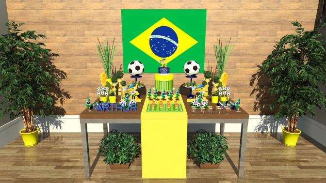 Decoração Copa do Mundo para festas