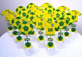 Lembrancinhas Copa do Mundo em EVA para escola