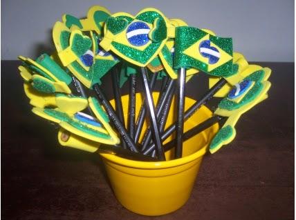 Lembrancinhas para Copa do Mundo em EVA