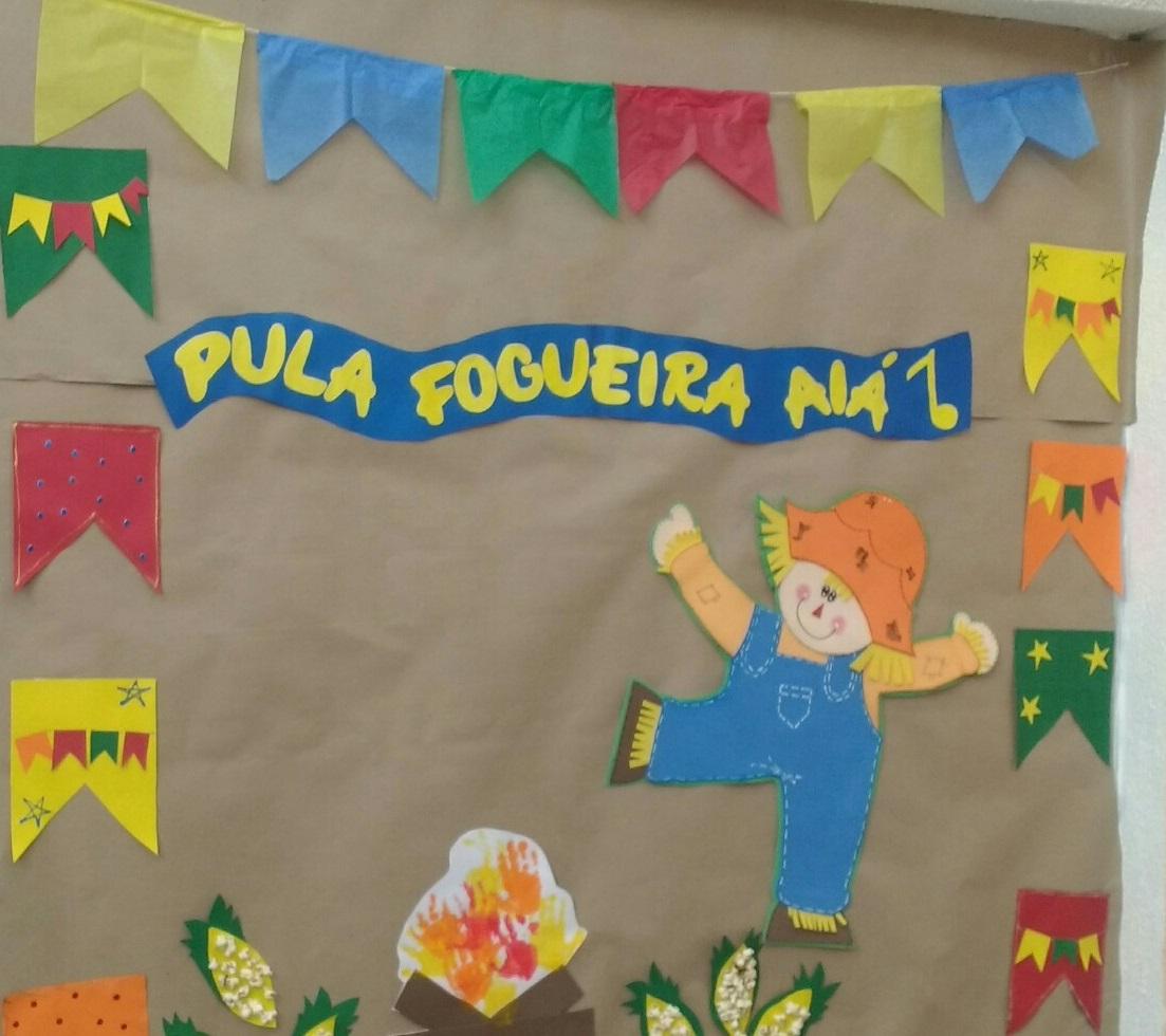 Mural Festa Junina