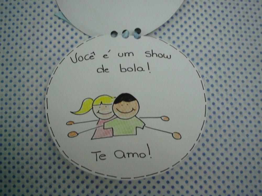 Cartão dia dos pais com moldes