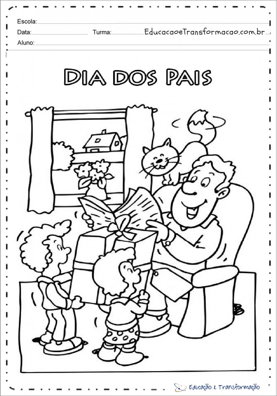 Atividades para o dia dos pais