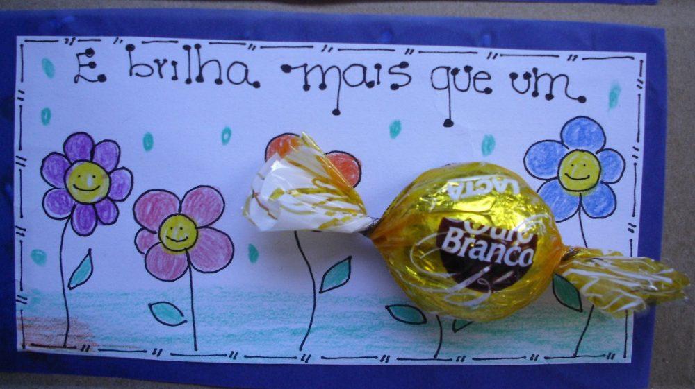 Lembrancinha dia dos pais com chocolate