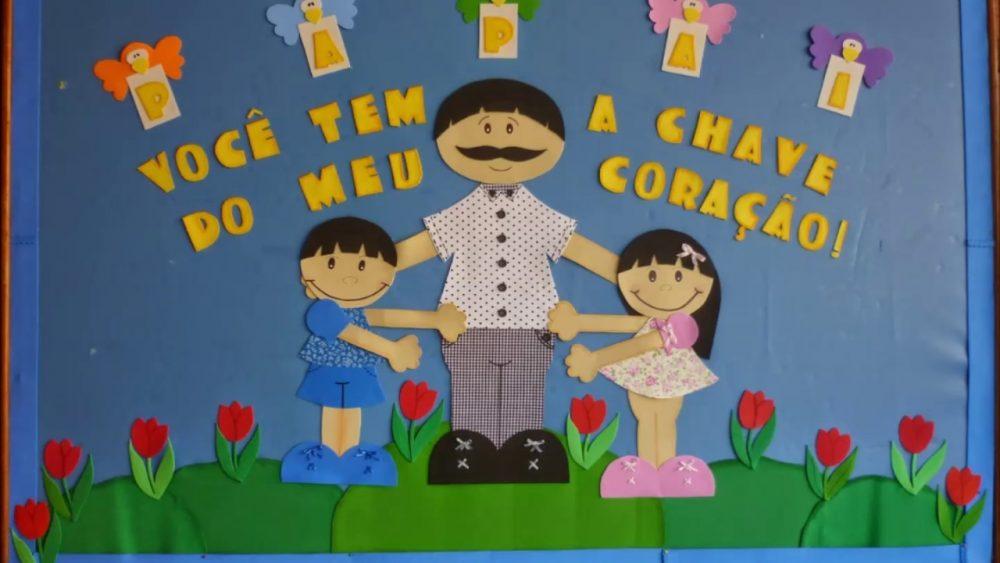 Mural Dia dos Pais