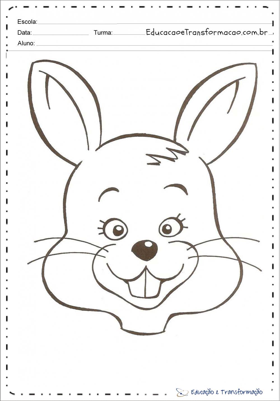 Desenho de coelho