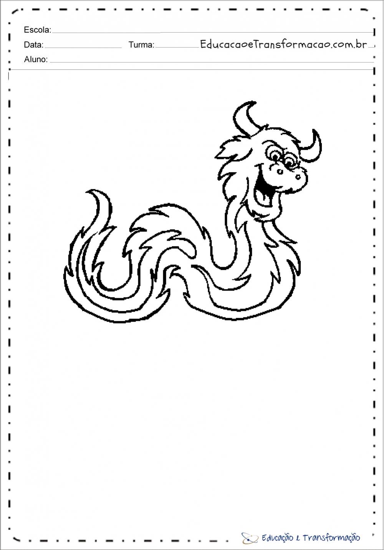 Desenhos do folclore
