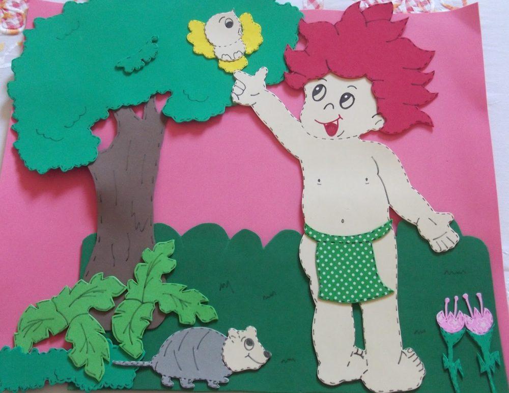 Mural folclore em EVA