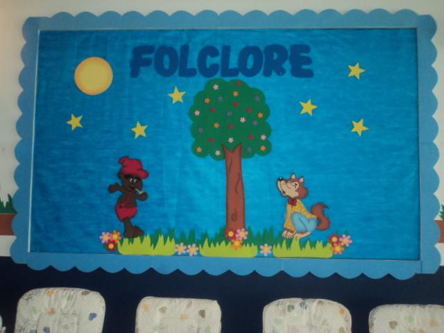 Painel folclore