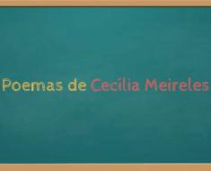 Poemas de Cecília Meireles