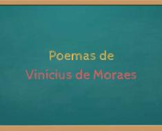 Poemas de Vinícius de Moraes