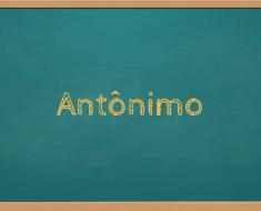 Antônimo