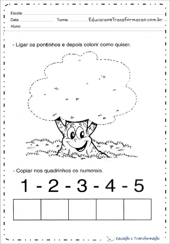 Atividades Dia Da Arvore Educacao Infantil Para Imprimir