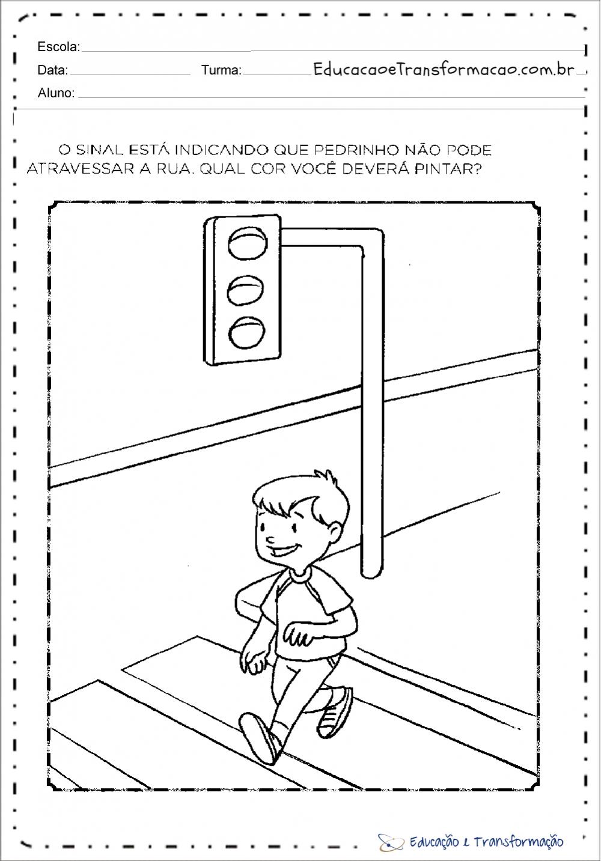 Atividades sobre o transito