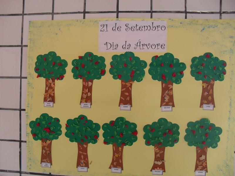 Atividades dia da arvore educação infantil - Murais e Painéis