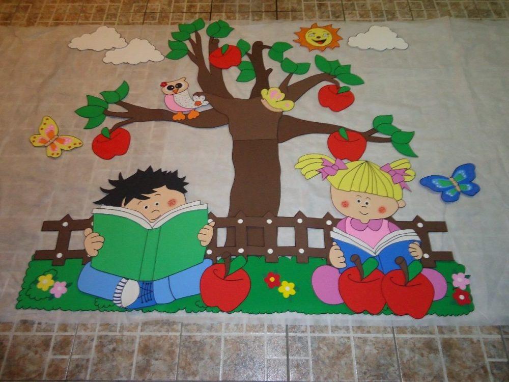 Mural Dia da Arvore para escola
