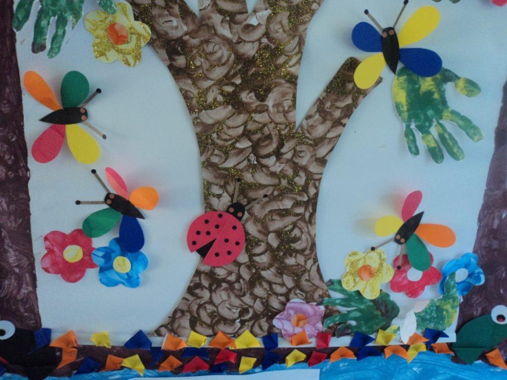 Painel dia da arvore para decorar a sala de aula