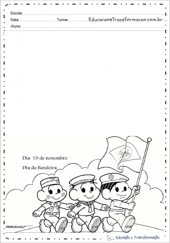 Atividades dia da bandeira