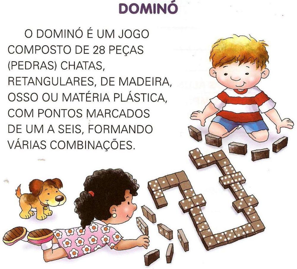 Texto infantil para imprimir